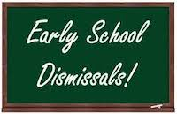 Early Dismissal in October